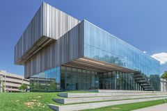 Speed Art Museum at Louisville University stock photography