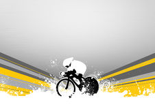 Speed Bicycle Royalty Free Stock Photos