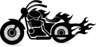 Speed bike logo Royalty Free Stock Image