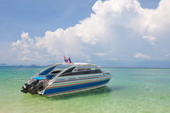 Speed Boat Stock Image
