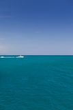 Speed boat in the Caribbean Stock Photography