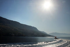 The speed boat Stock Images