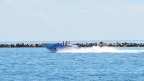 Speed Boat Miami 4k stock video
