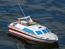 Speed Boat Model Royalty Free Stock Photos