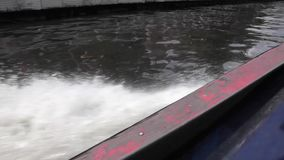 Speed boat. In the move stock video