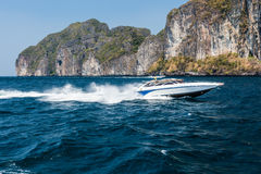 Speed boat Royalty Free Stock Photo