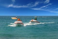 Speed Boat Ride Royalty Free Stock Photography