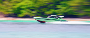 Speed ??boat Royalty Free Stock Photo