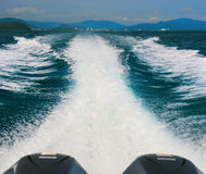 Speed ??boat Royalty Free Stock Photography