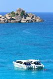 Speed Boat at Similan Royalty Free Stock Photos