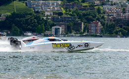 Speed boat at XCat World Offshore Championship Royalty Free Stock Photo
