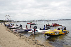 Speed Boats. Royalty Free Stock Image