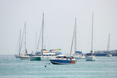 Speed Boats Stock Photos