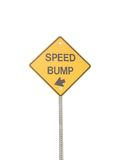 Speed Bump Royalty Free Stock Photos