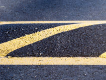 Speed bump Royalty Free Stock Image