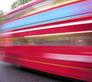 Speed Bus Royalty Free Stock Photos