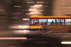Speed bus Royalty Free Stock Photo
