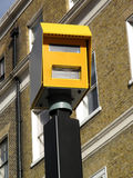 Speed camera. A modern means of enforcing the law on traffic speeding Stock Photography