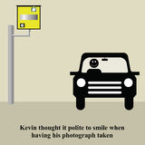 Speed camera Stock Images
