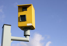 Speed Camera. A Speed Camera Royalty Free Stock Image