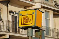 Speed camera, England Stock Images