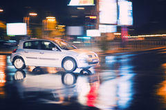 Speed car Royalty Free Stock Images