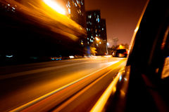 Speed car Royalty Free Stock Photography