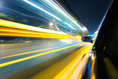 Speed car Stock Photography