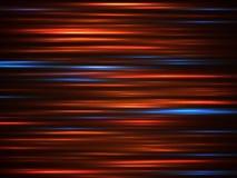 Speed car light movement lines on dark background vector illustration royalty free illustration