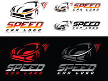 Speed Car Logo Stock Photo