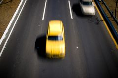 Speed cars Royalty Free Stock Photography
