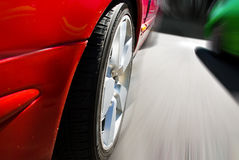 Speed cars Royalty Free Stock Photo