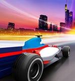 Speed in city vector illustration