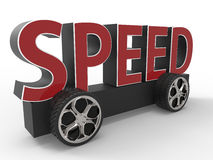 Speed Concept Royalty Free Stock Photography