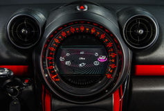 Speed control dashboard Royalty Free Stock Photos
