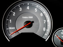 Speed control dashboard Royalty Free Stock Photo