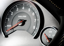 Speed control dashboard Royalty Free Stock Images