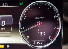 Speed control dashboard Royalty Free Stock Image