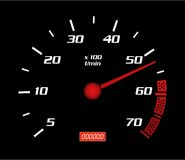 Speed Dashboard Royalty Free Stock Photography