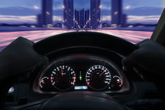 Speed Dashboard Stock Images