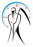 Speed demon vector illustration