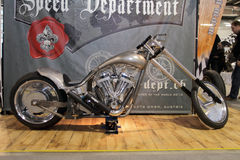 Speed Department Custom Motorbike Royalty Free Stock Photo