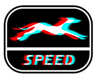 Speed dog Royalty Free Stock Images