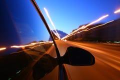 Speed drive Stock Photo