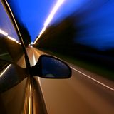 Speed drive Royalty Free Stock Image