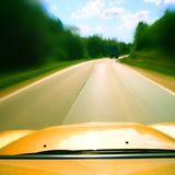 Speed drive Royalty Free Stock Photo