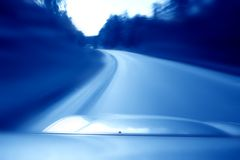Speed drive Royalty Free Stock Images
