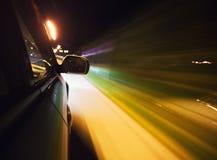 Speed driving Stock Photo