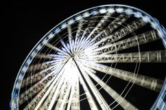 Speed of Ferris wheel Royalty Free Stock Images
