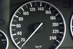 Speed gauge royalty free stock photography
